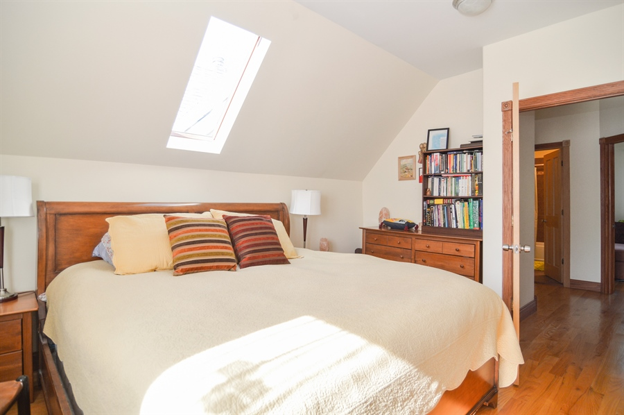Real Estate Photography - 4022 N Kilbourn Ave, Chicago, IL, 60641 - Master Bedroom