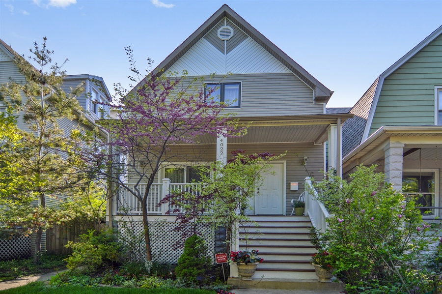 Real Estate Photography - 4022 N Kilbourn Ave, Chicago, IL, 60641 - Front View