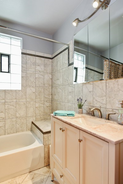 Real Estate Photography - 4022 N Kilbourn Ave, Chicago, IL, 60641 - Bathroom