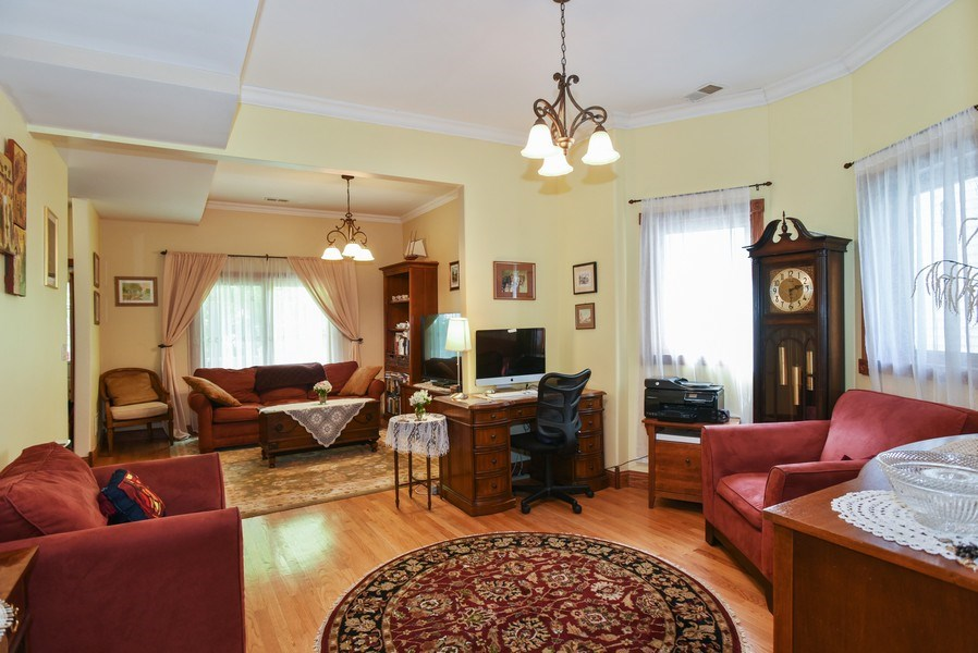 Real Estate Photography - 4022 N Kilbourn Ave, Chicago, IL, 60641 - Living Room / Dining Room