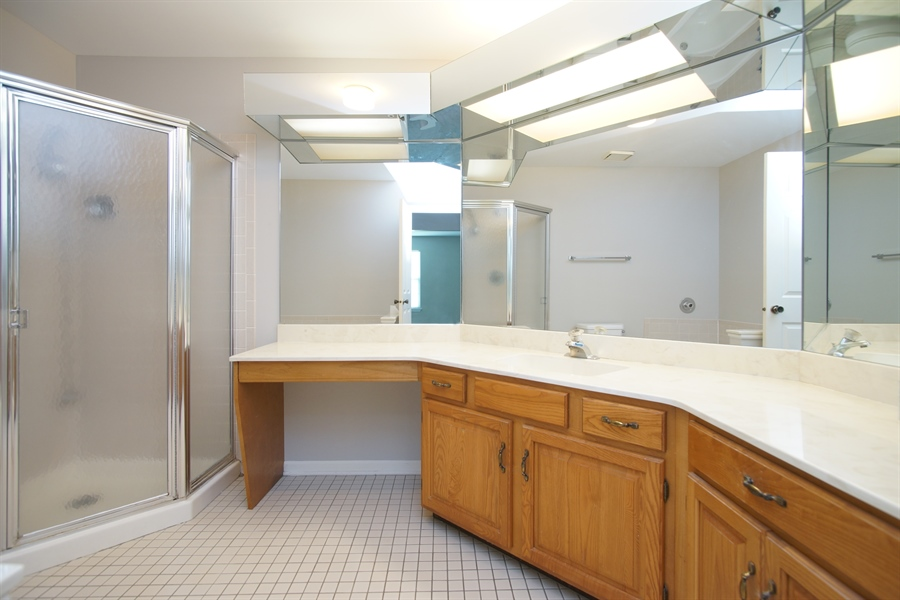 Real Estate Photography - 12 Country Club Dr, Prospect Heights, IL, 60070 - Master Bathroom