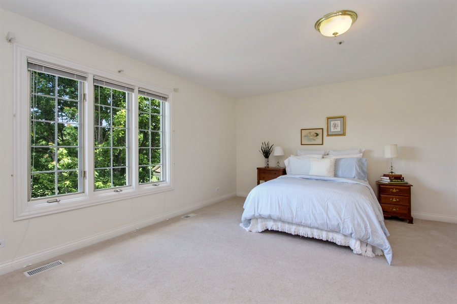Real Estate Photography - 4760 Doncaster Court, Long Grove, IL, 60047 - 2nd Bedroom