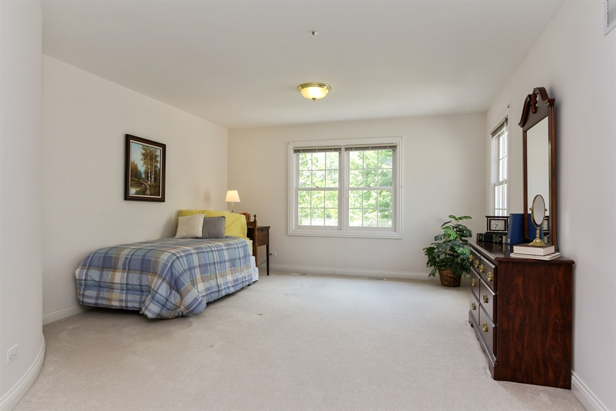 Real Estate Photography - 4760 Doncaster Court, Long Grove, IL, 60047 - 3rd Bedroom