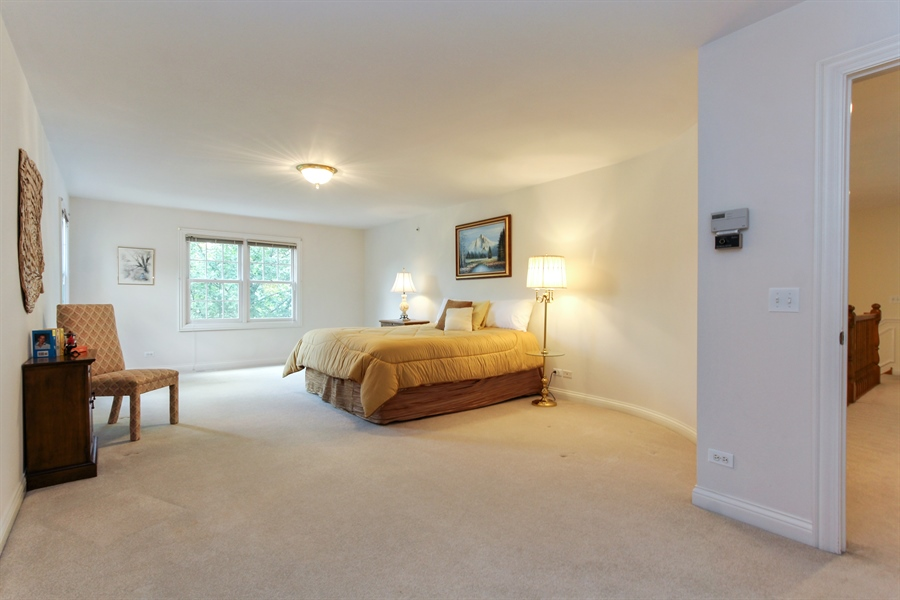 Real Estate Photography - 4760 Doncaster Court, Long Grove, IL, 60047 - 4th Bedroom