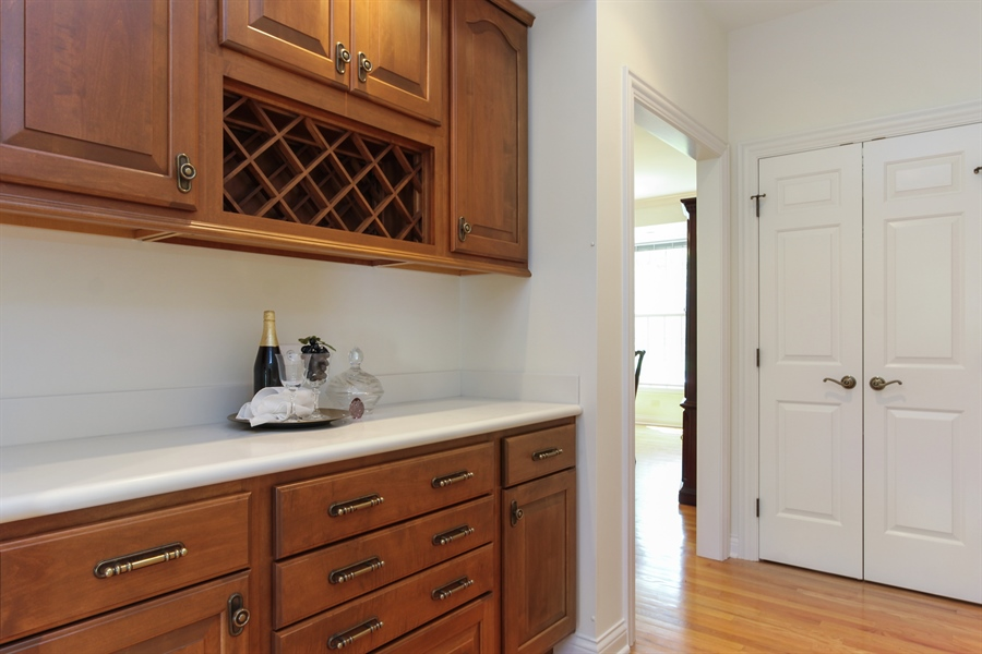 Real Estate Photography - 4760 Doncaster Court, Long Grove, IL, 60047 - Butler's pantry