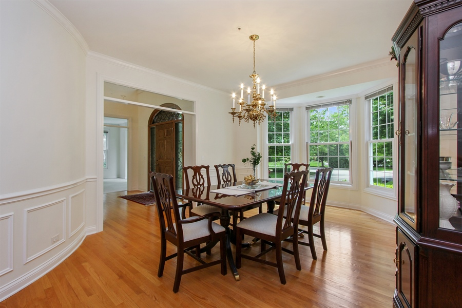 Real Estate Photography - 4760 Doncaster Court, Long Grove, IL, 60047 - Dining Room