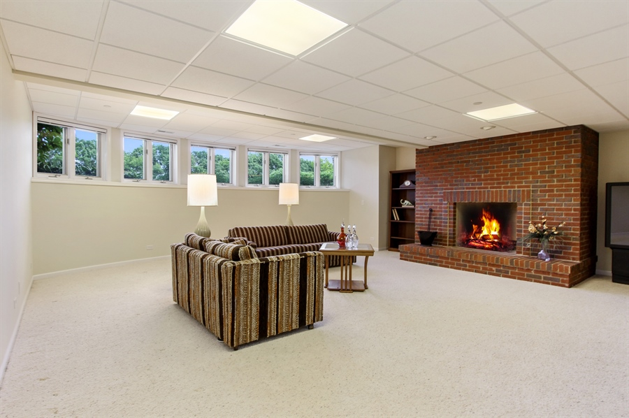 Real Estate Photography - 4760 Doncaster Court, Long Grove, IL, 60047 - Rec Room