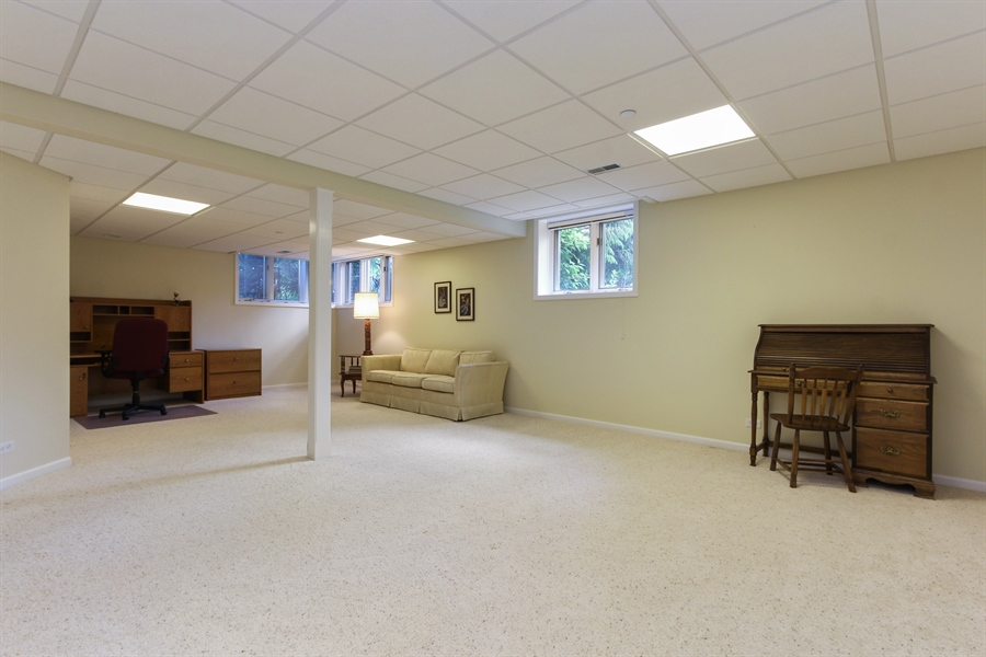 Real Estate Photography - 4760 Doncaster Court, Long Grove, IL, 60047 - Bonus Room