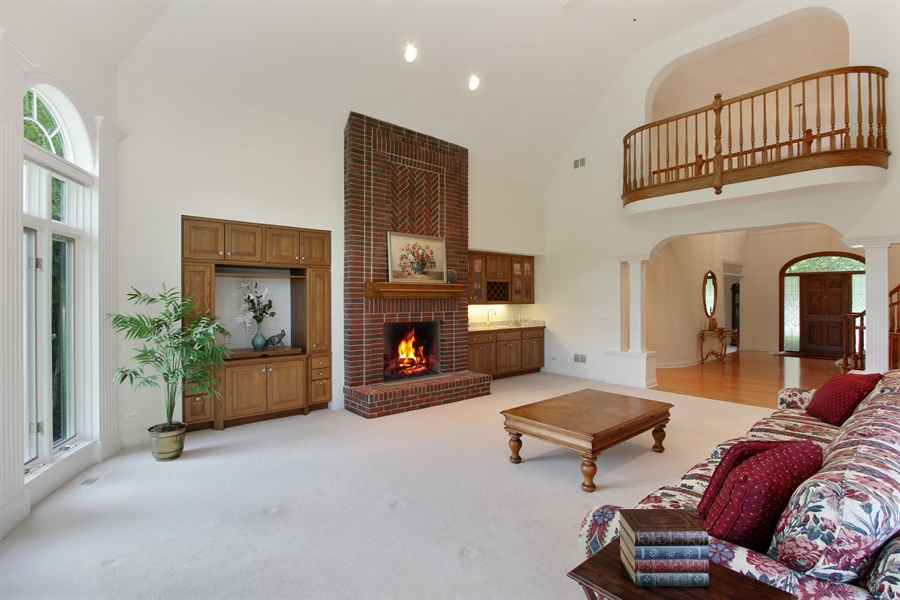 Real Estate Photography - 4760 Doncaster Court, Long Grove, IL, 60047 - Great Room