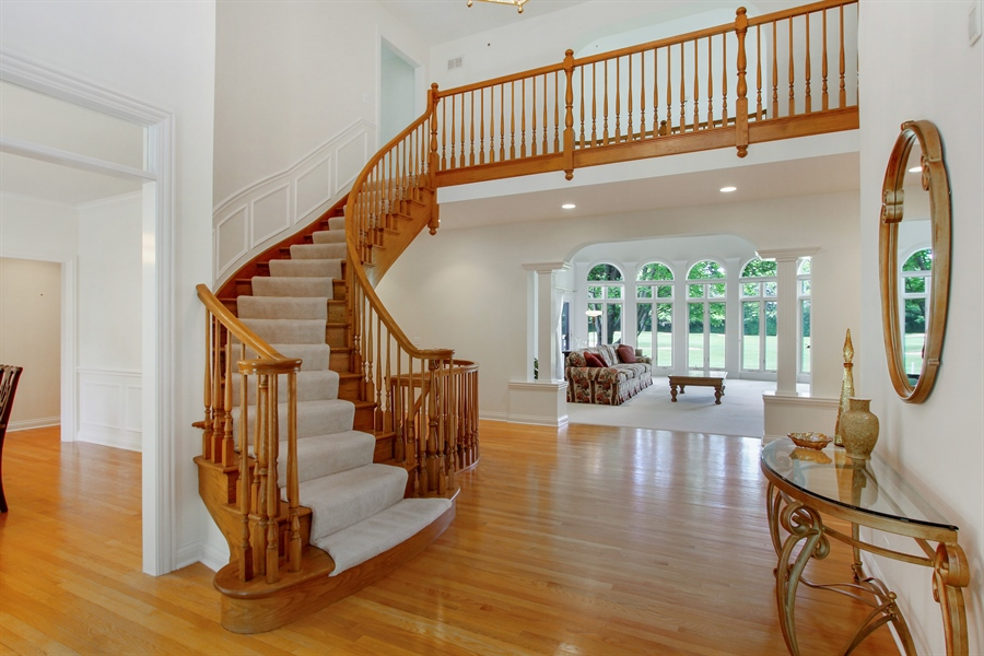 Real Estate Photography - 4760 Doncaster Court, Long Grove, IL, 60047 - Foyer