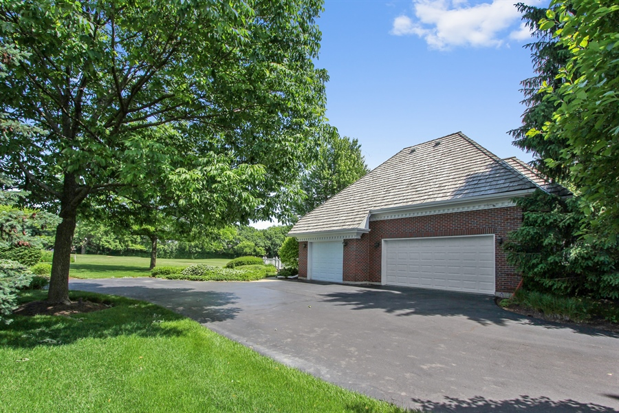 Real Estate Photography - 4760 Doncaster Court, Long Grove, IL, 60047 - Garage