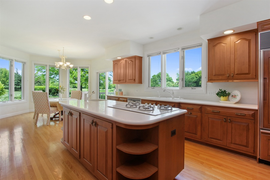 Real Estate Photography - 4760 Doncaster Court, Long Grove, IL, 60047 - Kitchen