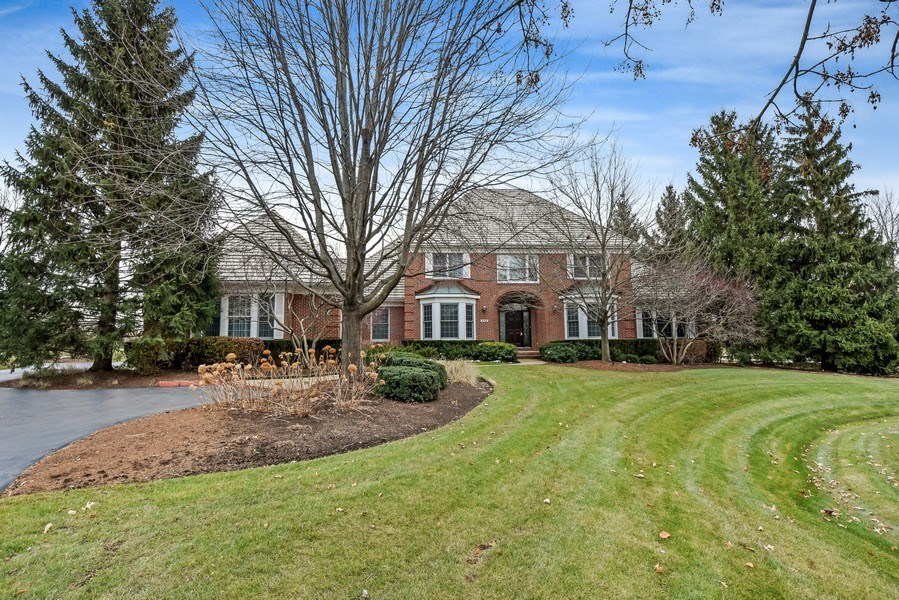 Real Estate Photography - 4760 Doncaster Court, Long Grove, IL, 60047 - Front View