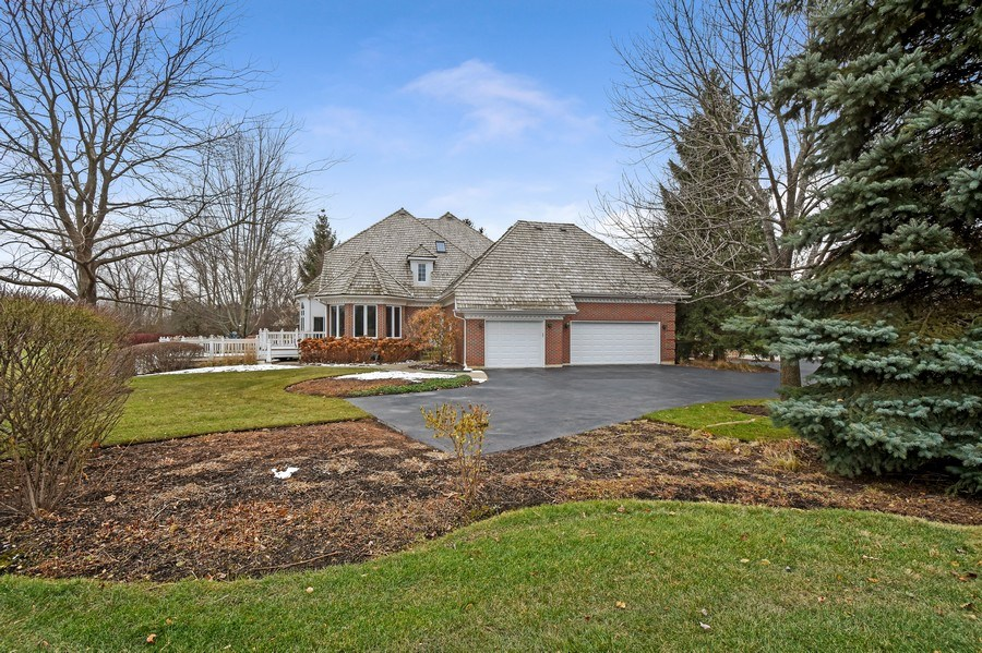 Real Estate Photography - 4760 Doncaster Court, Long Grove, IL, 60047 - Side View