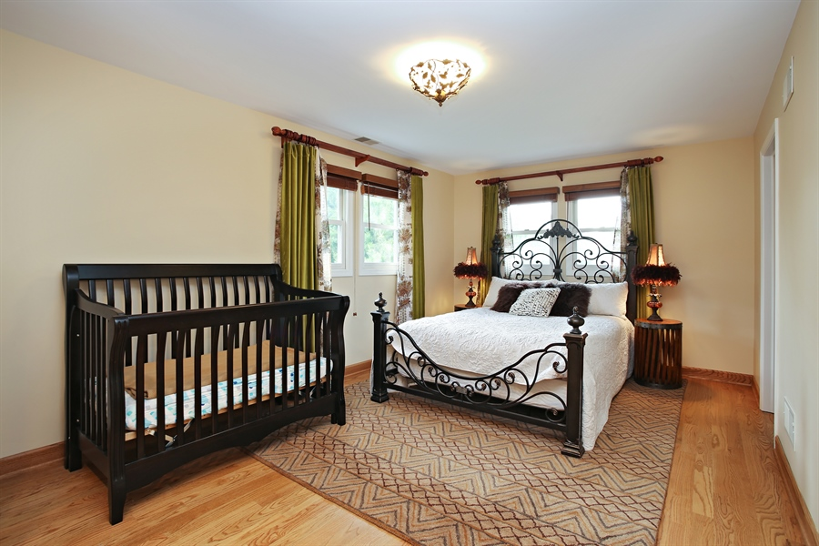 Real Estate Photography - 136 E Morrison Ave, Mount Prospect, IL, 60056 - Master Bedroom