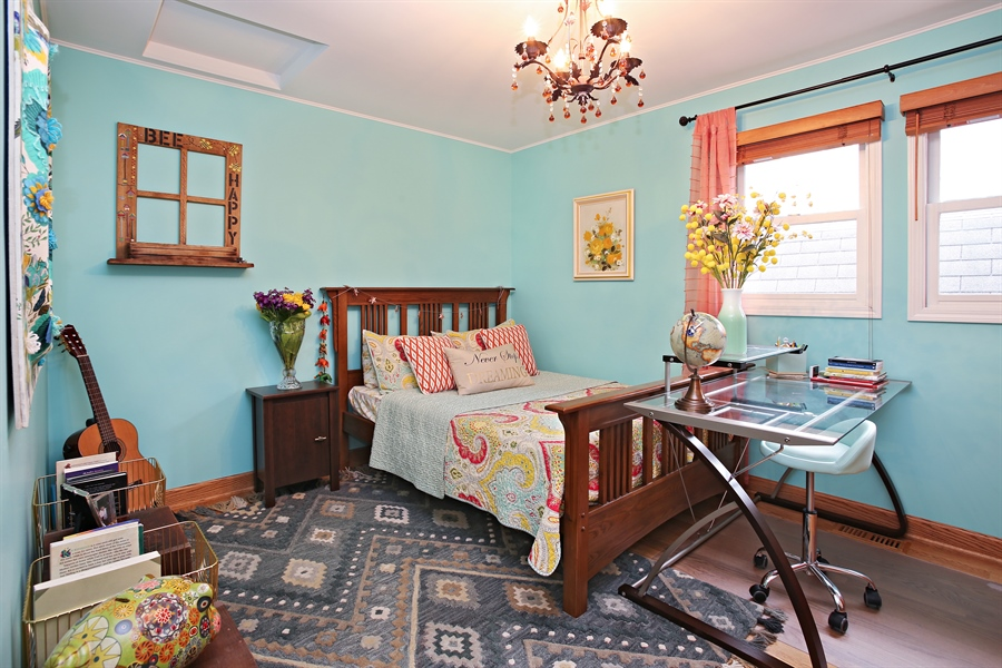 Real Estate Photography - 136 E Morrison Ave, Mount Prospect, IL, 60056 - Bedroom
