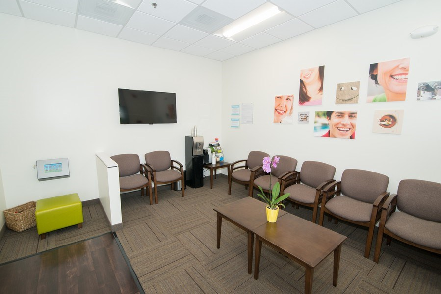 Real Estate Photography - 7540 Orangethorpe Ave, Ste A-1,Dentists of Buena Park, Buena Park, CA, 90621 - Lobby