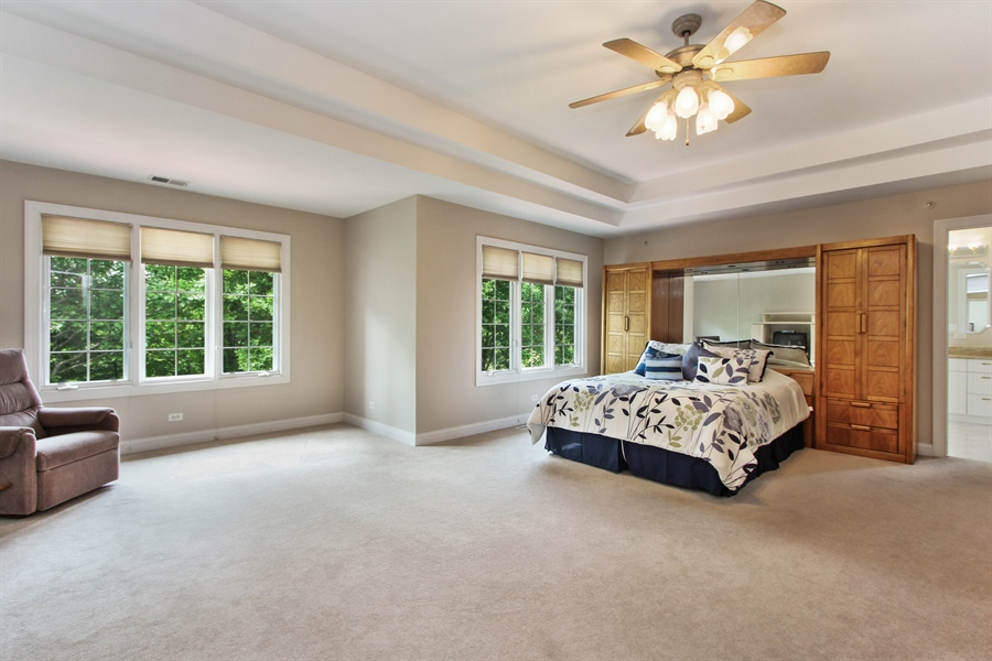 Real Estate Photography - 4442 Stonehaven Dr, Long Grove, IL, 60047 - Master Bedroom
