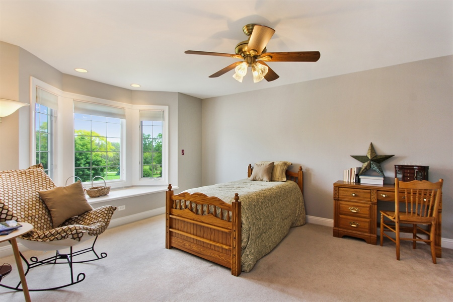Real Estate Photography - 4442 Stonehaven Dr, Long Grove, IL, 60047 - 3rd Bedroom