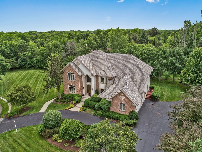 Real Estate Photography - 4442 Stonehaven Dr, Long Grove, IL, 60047 - Aerial View