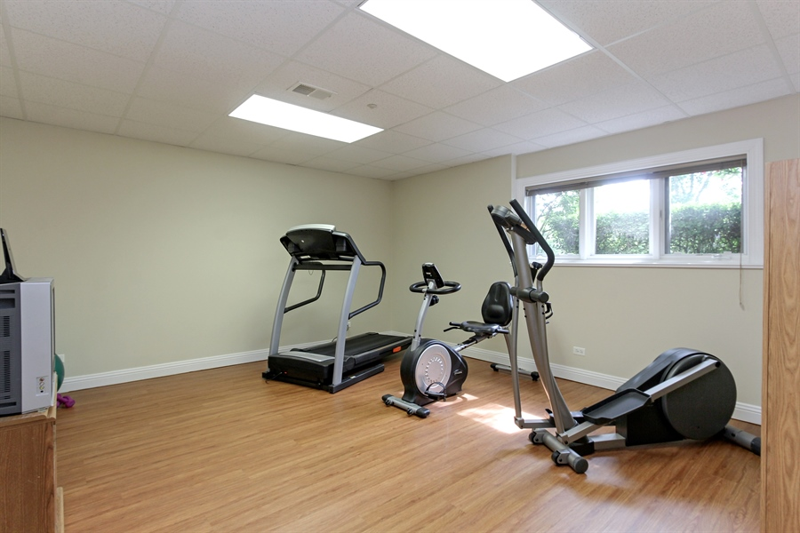 Real Estate Photography - 4442 Stonehaven Dr, Long Grove, IL, 60047 - Exercise Room