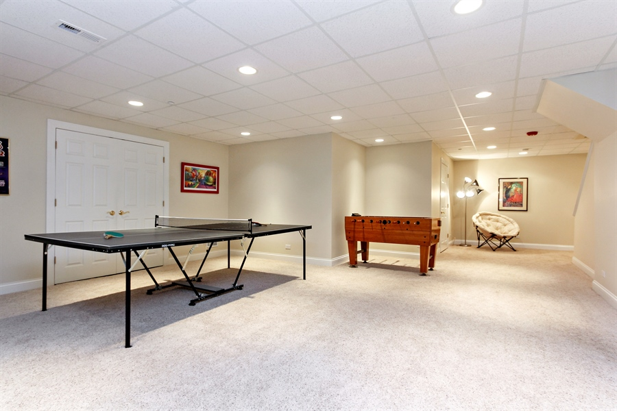 Real Estate Photography - 4442 Stonehaven Dr, Long Grove, IL, 60047 - Recreational Room
