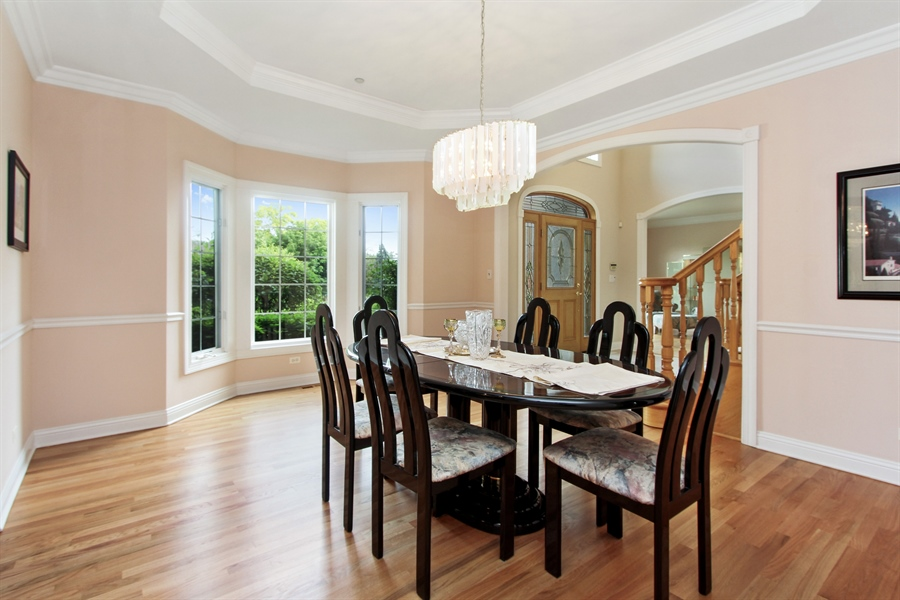 Real Estate Photography - 4442 Stonehaven Dr, Long Grove, IL, 60047 - Dining Room
