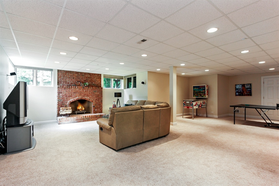 Real Estate Photography - 4442 Stonehaven Dr, Long Grove, IL, 60047 - Basement
