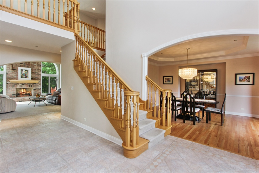 Real Estate Photography - 4442 Stonehaven Dr, Long Grove, IL, 60047 - Foyer