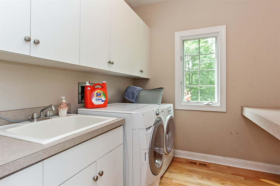 Real Estate Photography - 4442 Stonehaven Dr, Long Grove, IL, 60047 - Laundry Room