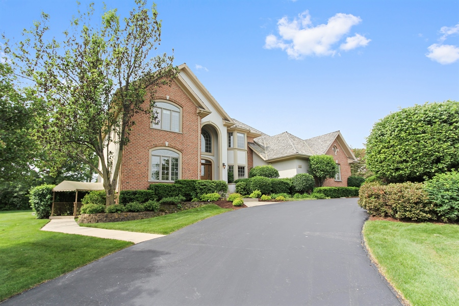 Real Estate Photography - 4442 Stonehaven Dr, Long Grove, IL, 60047 - Front View