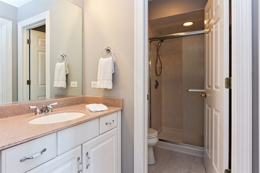 Real Estate Photography - 4442 Stonehaven Dr, Long Grove, IL, 60047 - 2nd Bathroom