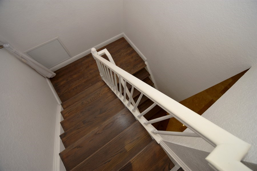 Real Estate Photography - 400 NE 11th Ave, Ft. Lauderdale, FL, 33301 - Staircase
