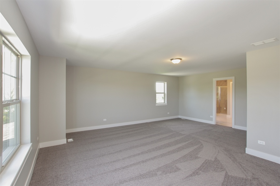 Real Estate Photography - 20964 Lee St, Shorewood, IL, 60404 - Master Bedroom