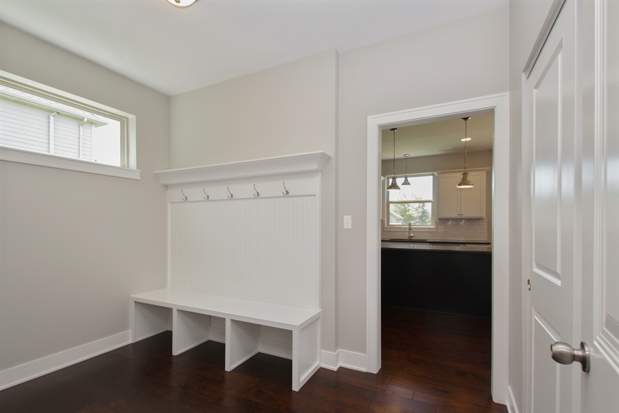 Real Estate Photography - 20964 Lee St, Shorewood, IL, 60404 - Mudroom