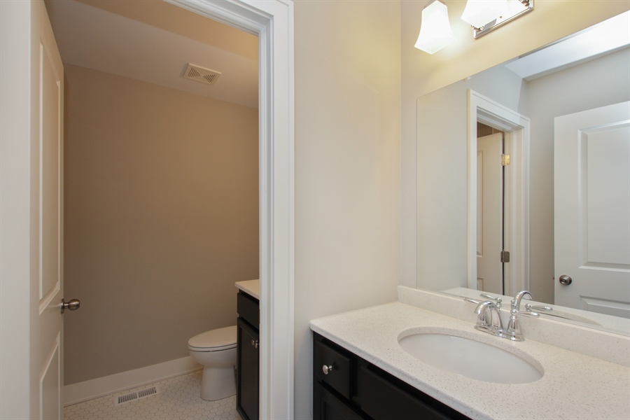 Real Estate Photography - 20964 Lee St, Shorewood, IL, 60404 - Bathroom