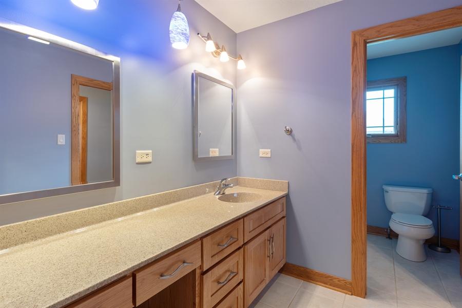 Real Estate Photography - 21333 Saddle Lane, Mokena, IL, 60448 - 3rd Bathroom