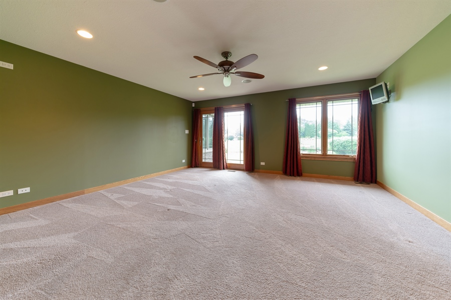 Real Estate Photography - 21333 Saddle Lane, Mokena, IL, 60448 - Master Bedroom