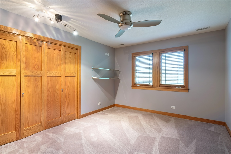 Real Estate Photography - 21333 Saddle Lane, Mokena, IL, 60448 - 2nd Bedroom