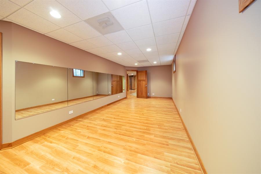 Real Estate Photography - 21333 Saddle Lane, Mokena, IL, 60448 - Exercise Room