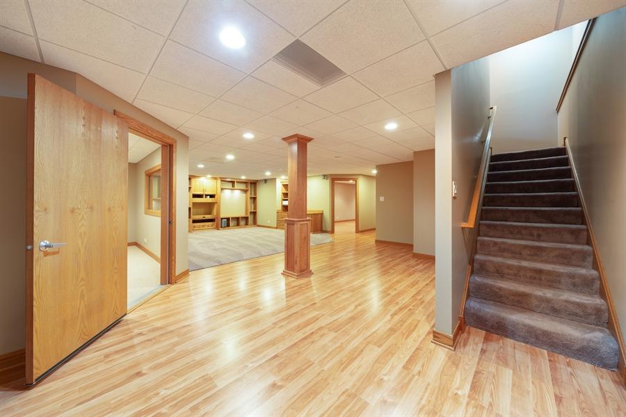 Real Estate Photography - 21333 Saddle Lane, Mokena, IL, 60448 - Basement