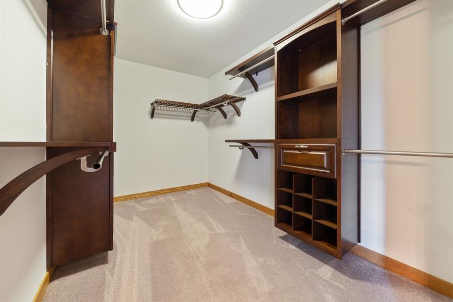 Real Estate Photography - 21333 Saddle Lane, Mokena, IL, 60448 - Master Bedroom Closet