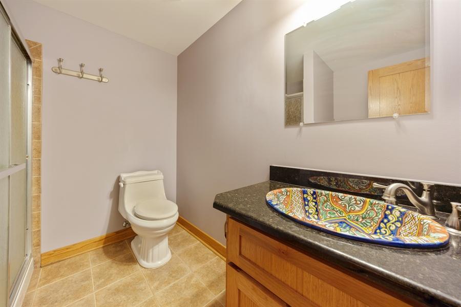 Real Estate Photography - 21333 Saddle Lane, Mokena, IL, 60448 - Bathroom