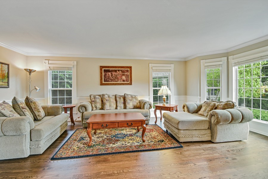 Real Estate Photography - 21345 W Williamsburg Ct, Kildeer, IL, 60047 - Living Room