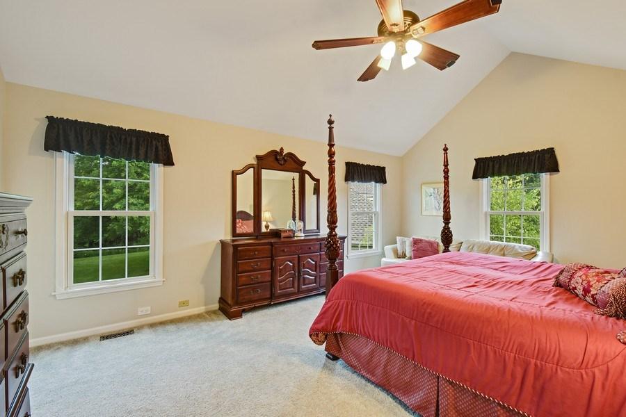 Real Estate Photography - 21345 W Williamsburg Ct, Kildeer, IL, 60047 - Master Bedroom
