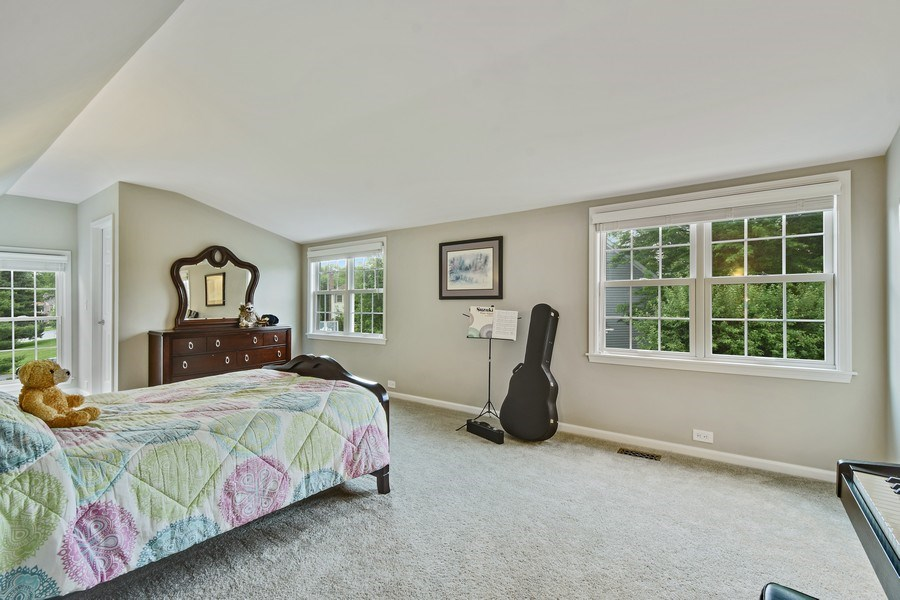 Real Estate Photography - 21345 W Williamsburg Ct, Kildeer, IL, 60047 - 4th Bedroom