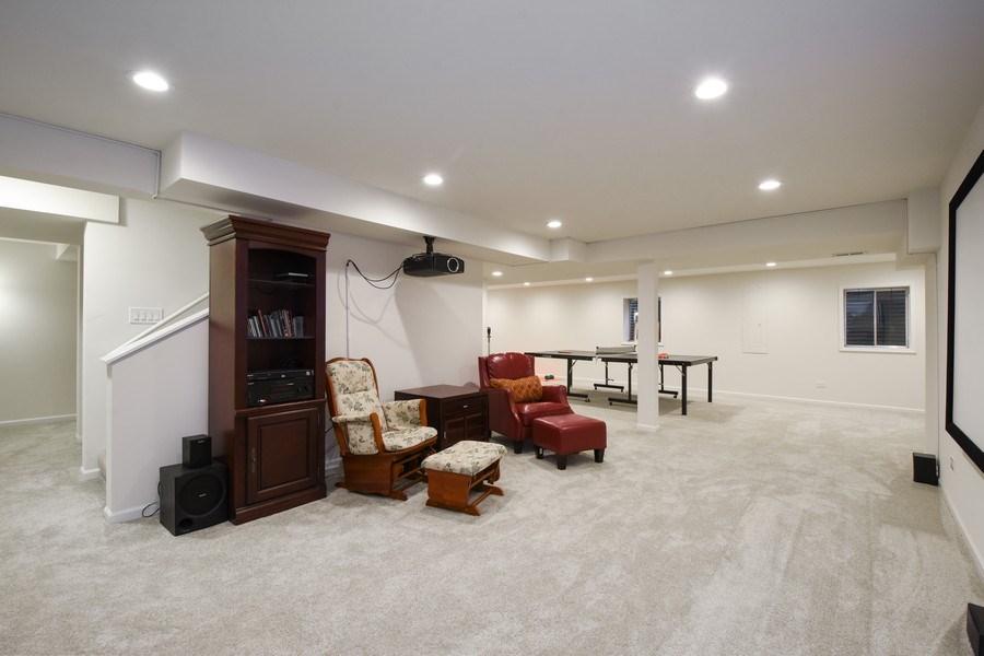 Real Estate Photography - 21345 W Williamsburg Ct, Kildeer, IL, 60047 - Basement