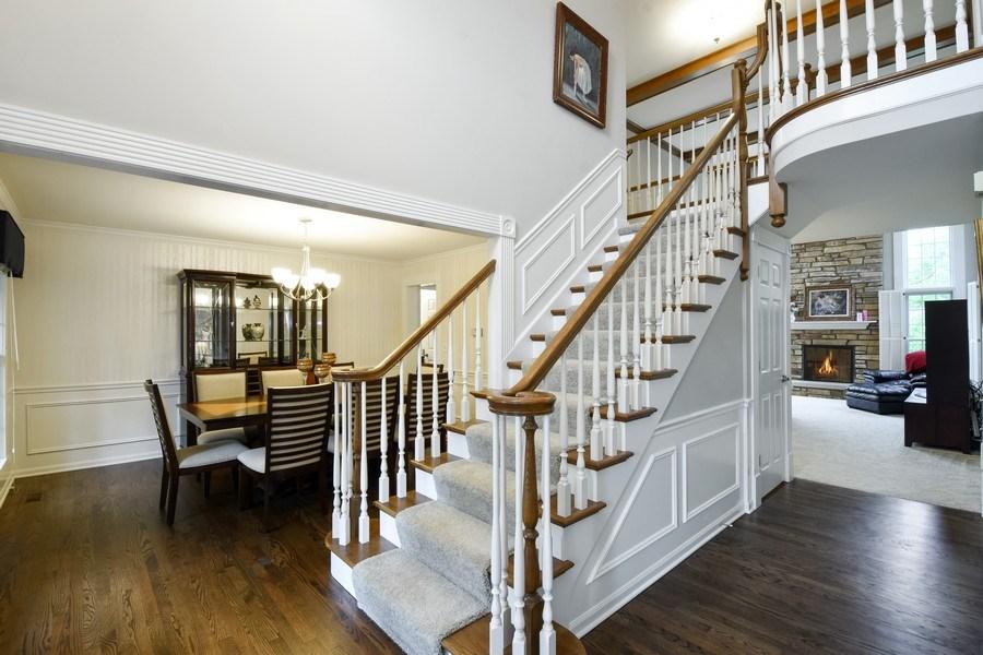 Real Estate Photography - 21345 W Williamsburg Ct, Kildeer, IL, 60047 - Foyer