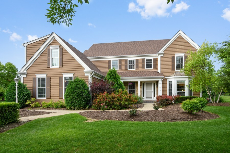 Real Estate Photography - 21345 W Williamsburg Ct, Kildeer, IL, 60047 - Front View