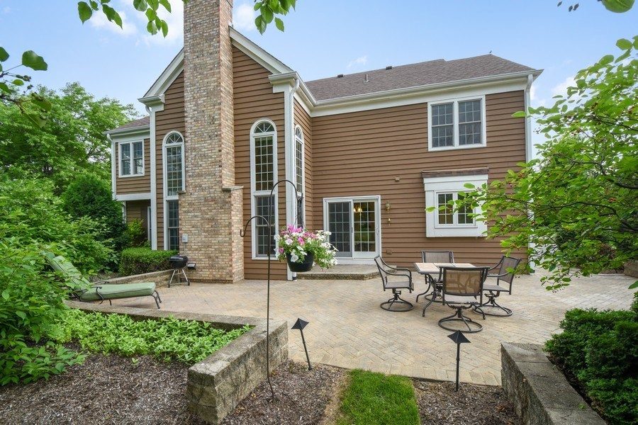 Real Estate Photography - 21345 W Williamsburg Ct, Kildeer, IL, 60047 - Rear View